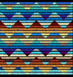 Seamless background in the bohemian style vector