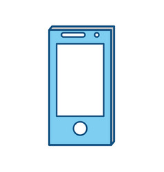 Smartphone technology symbol vector