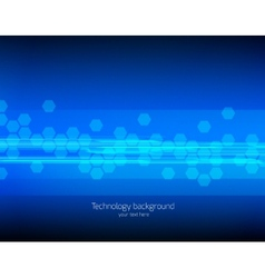 Abstract tech background vector
