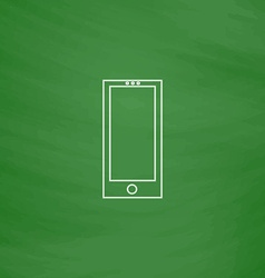 cellphone computer symbol vector image vector image