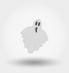 ghost icon flat vector image
