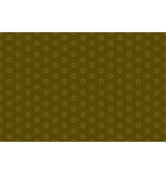 Golden ornamental seamless pattern vector image