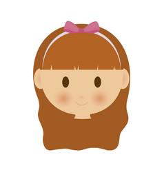 Kid cartoon icon vector