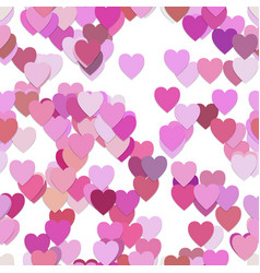 Seamless valentines day pattern background - vector