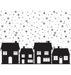 simple christmas background vector image