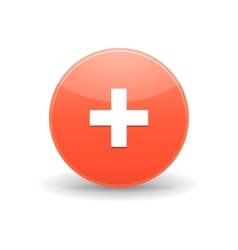 AddThis icon simple style vector image vector image