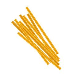 Maccheroni pasta raw pasta macaroni cartoon vector