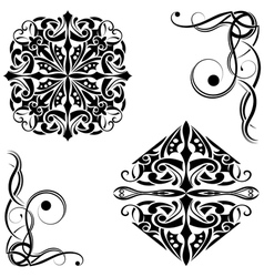 Tribal pattern vector image