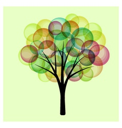 Fantasy tree vector