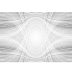 Abstract light grey tech wavy pattern background vector