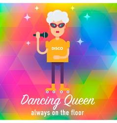 Dancing queen vector