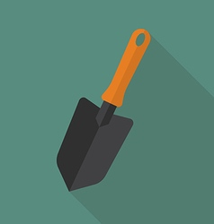 Trowel flat icon vector