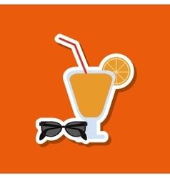 Vacations icon design vector
