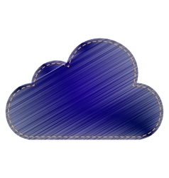 Cloud sign vector