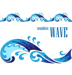 Decorative wave vector image