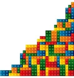 blocks to build design vector image