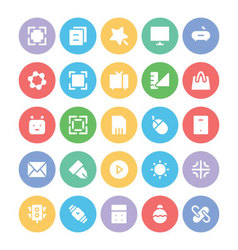 Design and development icons 1 vector