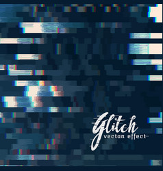Digital glitch abstract background vector