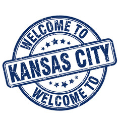 Welcome to kansas city vector