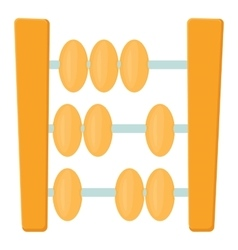 Abacus icon cartoon style vector image