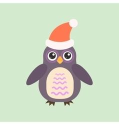 Cartoon owl vector image