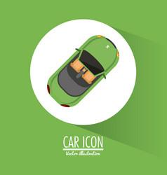Car vehicle transportation design vector
