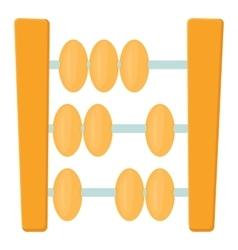 Abacus icon cartoon style vector
