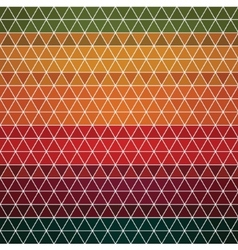 Abstract seamless background of hexagons vector image