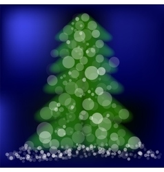 Green Pine vector image