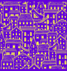 Houses new pattern 2 vector
