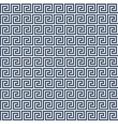 Meander style pattern - greek ornament background vector