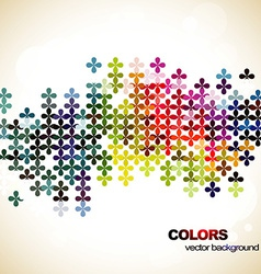 mosaic art vector image vector image