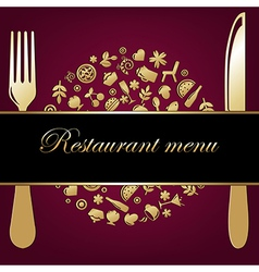 Restaurant Background vector image