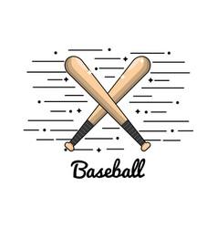 Symbol baseball play icon vector