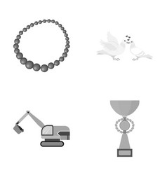 Reward sport business and other monochrome icon vector