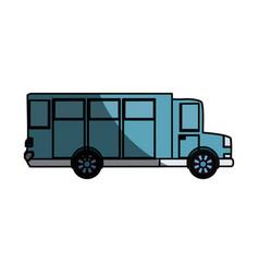 Big bus vehicle vector