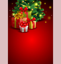 Christmas festive backgroung vector