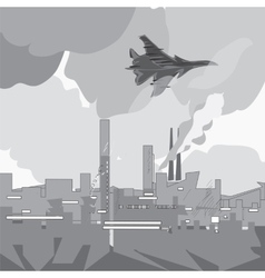 Jet Attacks vector image vector image