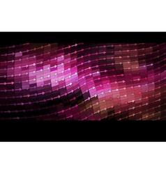 shiny mosaic banner vector image vector image