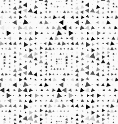 Textured with randomly colored triangles squares vector image