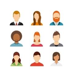 user figure social community vector image