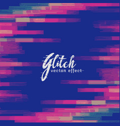 Monitor glitch background vector