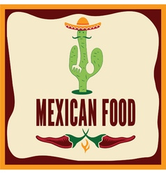 Mexican food vector