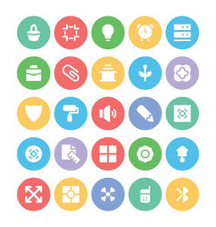 Design and development icons 2 vector