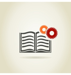 Book4 vector image