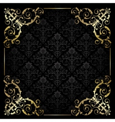 classy frame vector image vector image