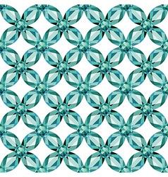 Flower Mesh aquamarine seamless texture vector image vector image