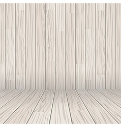 wooden texture empty room background vector image vector image