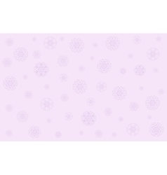 Christmas in gentle pink tones vector