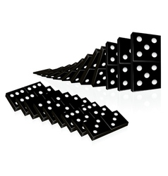 Domino set vector